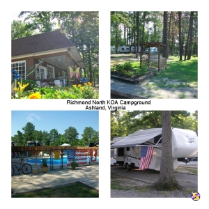 Richmond North KOA Campground, Ashland, Virginia