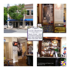 Birthplace of Pepsi-Cola New Bern, NC