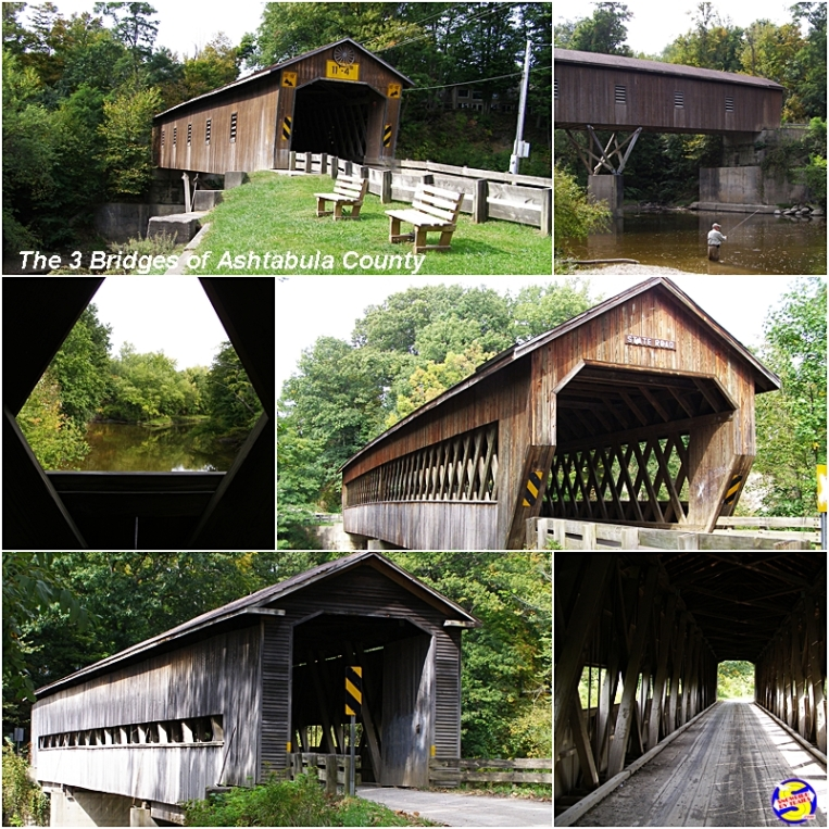 Covered Bridges in Conneaut, Ohio