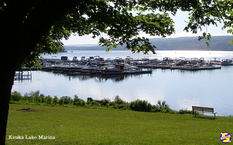 Marina near Penn Yan on Keuka Lake
