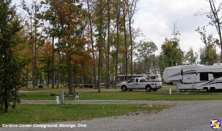 The Cardinal Center Campground, I-71 Exit 140, Marengo, Ohio