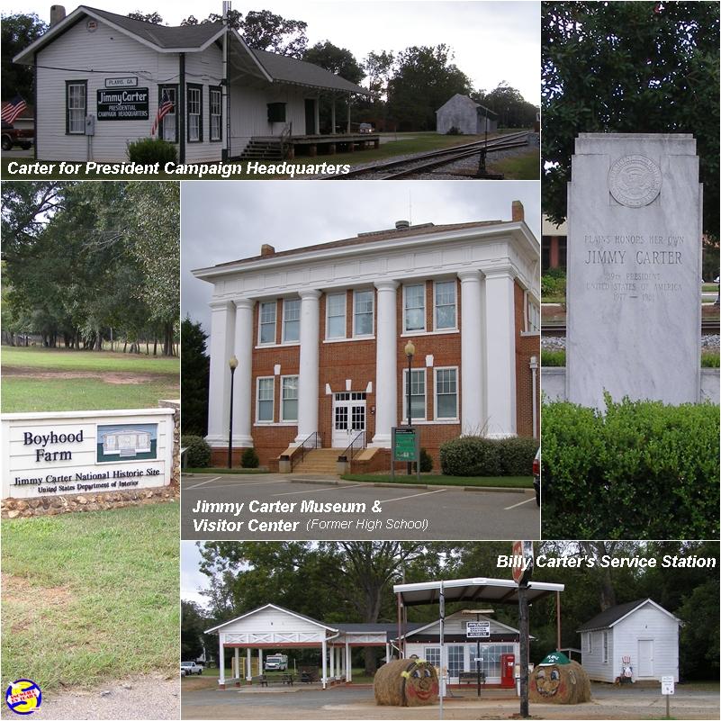 Jimmy Carter's Plains, Georgia