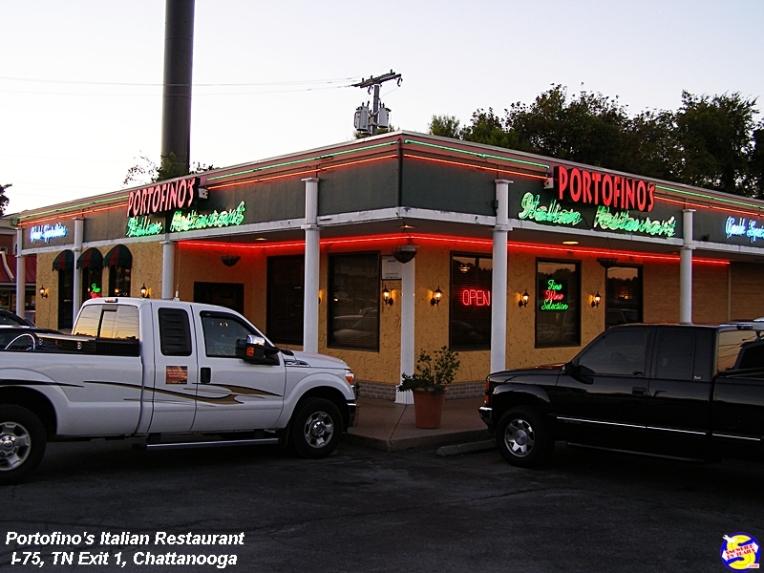 Portofino's Italian Restaurant, 6407 Ringgold Rd, East Ridge, TN 37412