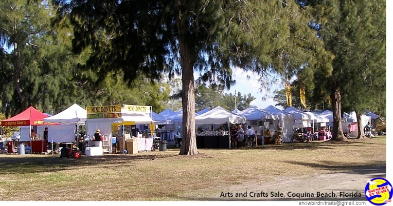 Coquina Beach Arts & Crafts Sale