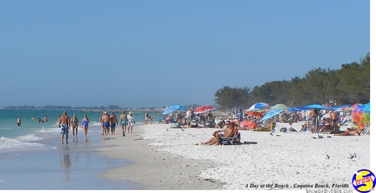 Coquina Beach on Anna Maria Island