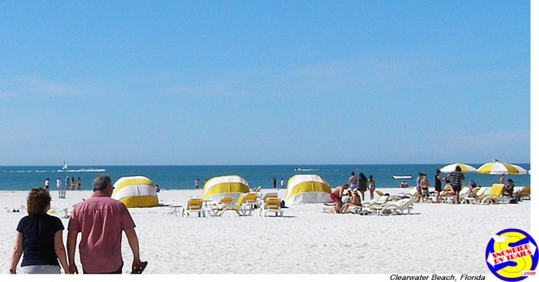 Today on Clearwater Beach, Florida