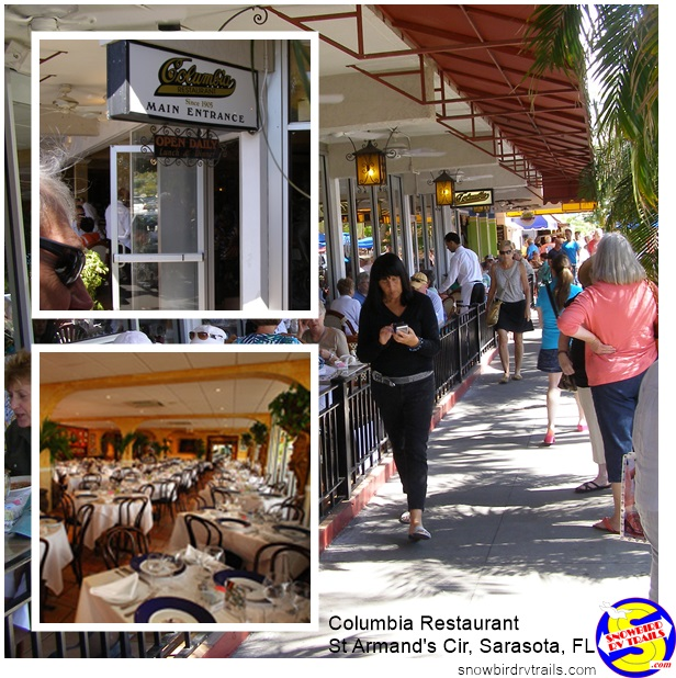 The Columbia Restaurant, St Armand's Key, Florida