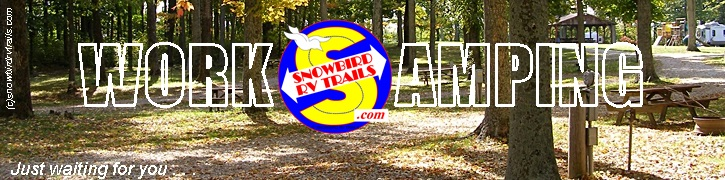 How to find Workamping Host jobs in all of the USA State Campgrounds