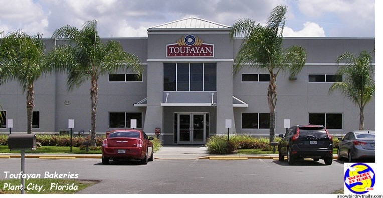 Toufayan Bakeries in Plant City, Florida