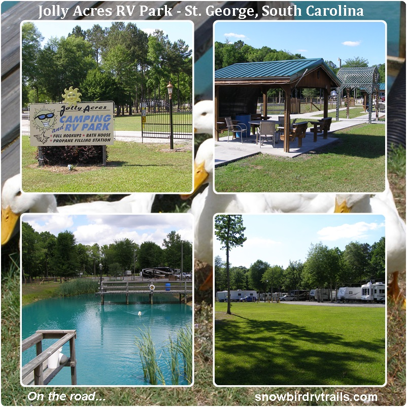 Jolly Acres Rv Park St George South Carolina
