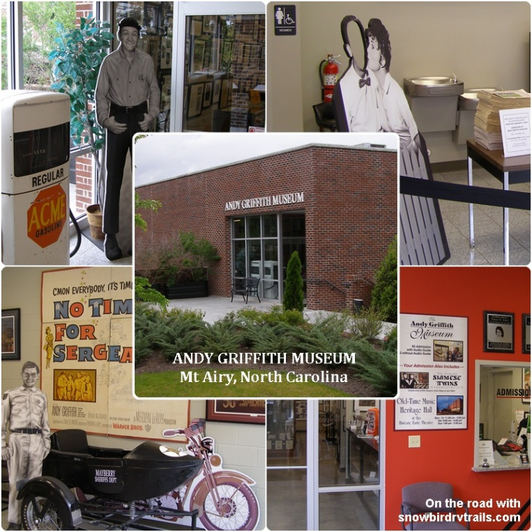 The Andy Griffith Museum in Mount Airy