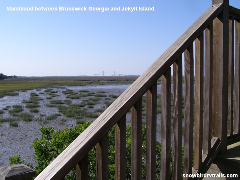 Brunswick Georgia Marshland