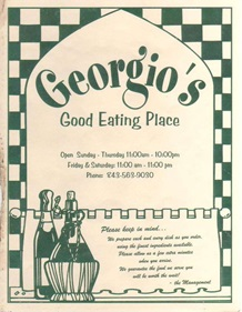 Georgios Pizza & Restaurant St. George, SC