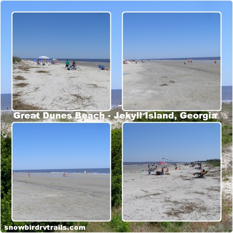 Great Dunes Beach on Jekyll Island