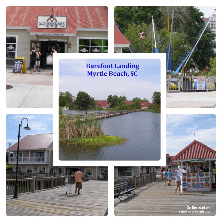 Barefoot Landing Boardwalk & Shops in Myrtle Beach, SC