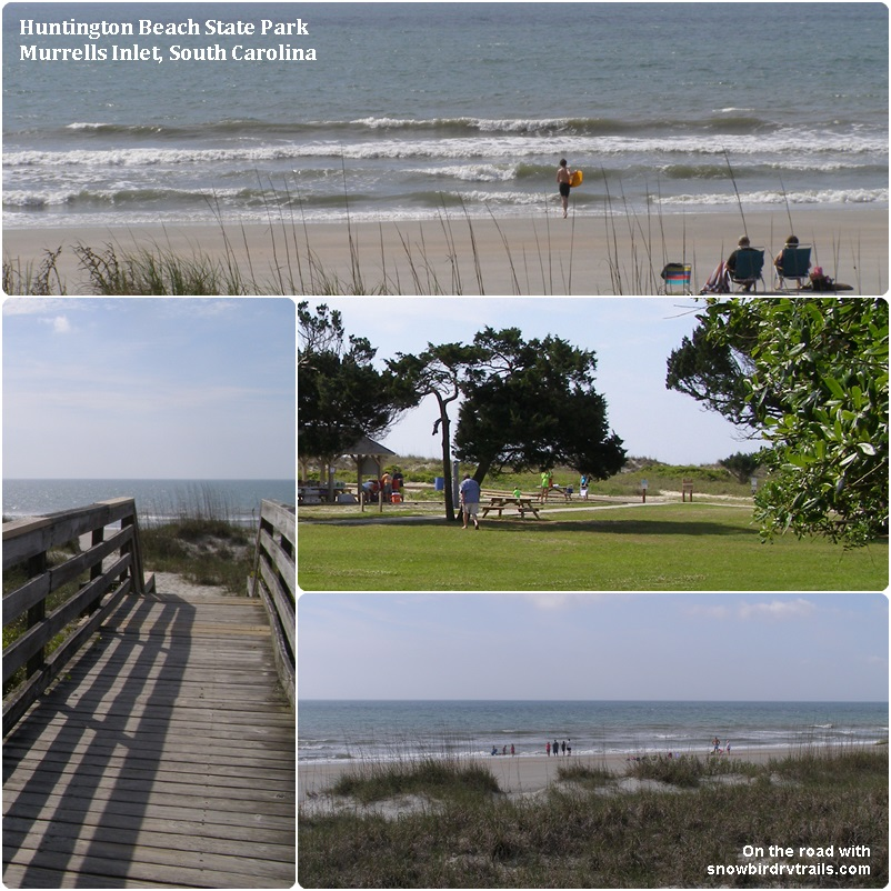 Huntington Beach State Park – Hop Aboard as we visit new