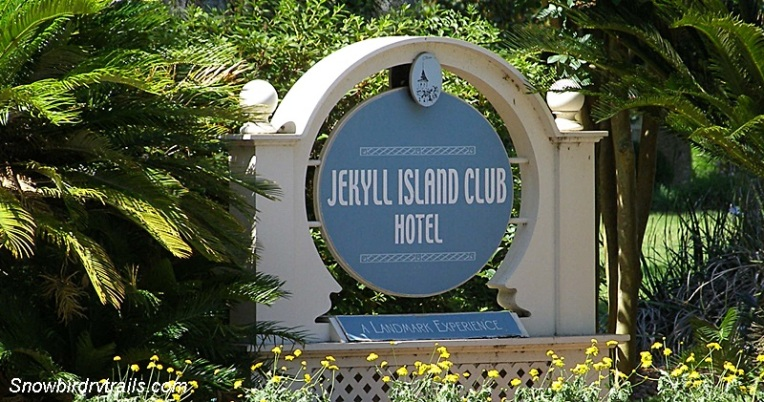 Jekyll Island Club Sign
