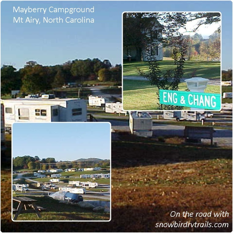 Mayberry Campground in Mount Airy, NC