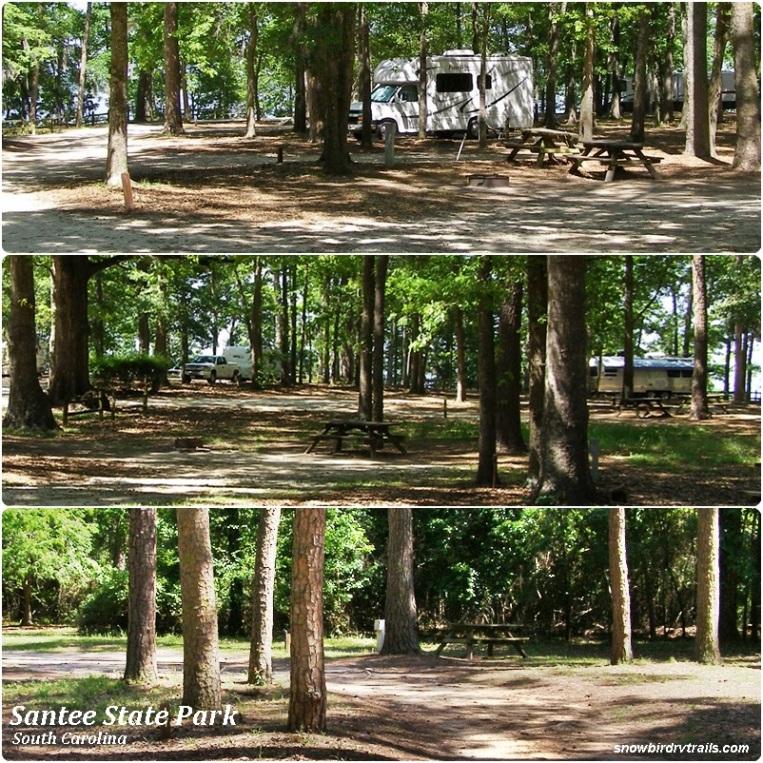 Santee State Park campground
