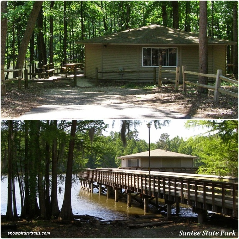 Santee State Park cabins to rent