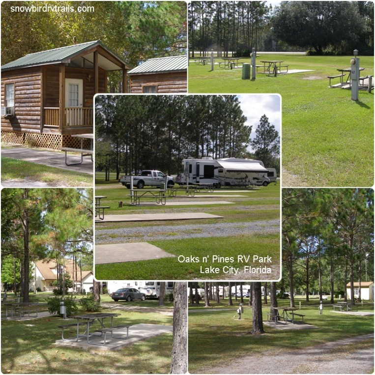 Oaks n' Pines RV Park, Lake City, FL