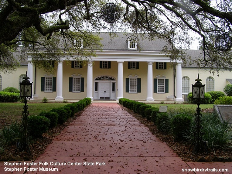 Stephen Foster Museum in Stephen Foster Folk Culture Center State Park