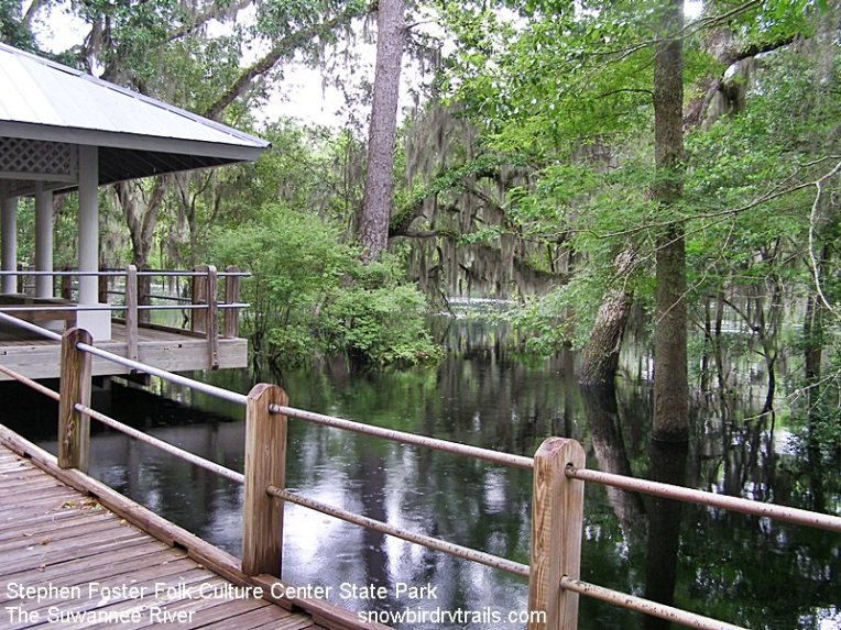 Suwannee River in White Springs, FL