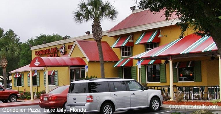 Gondolier Pizza, Lake City, FL