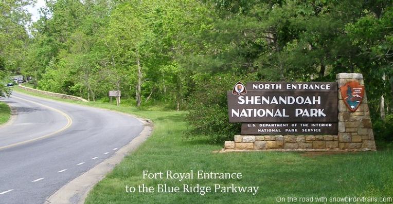 North Entrance to the Blue Ridge Parkway
