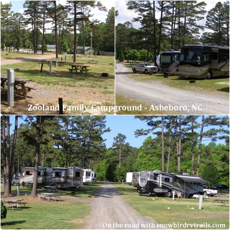 Zooland Family Campground - Asheboro, NC