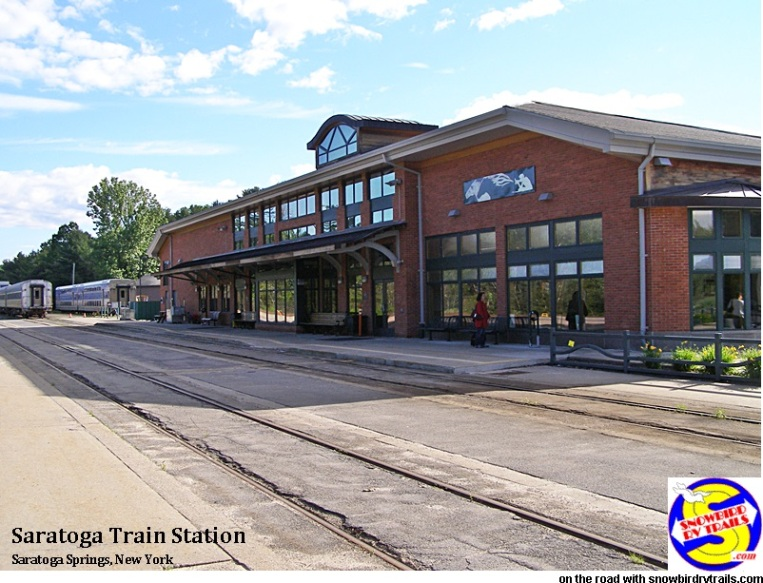 The Saratoga Train Depot