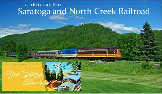 A ride on The Saratoga & North Creek Railroad