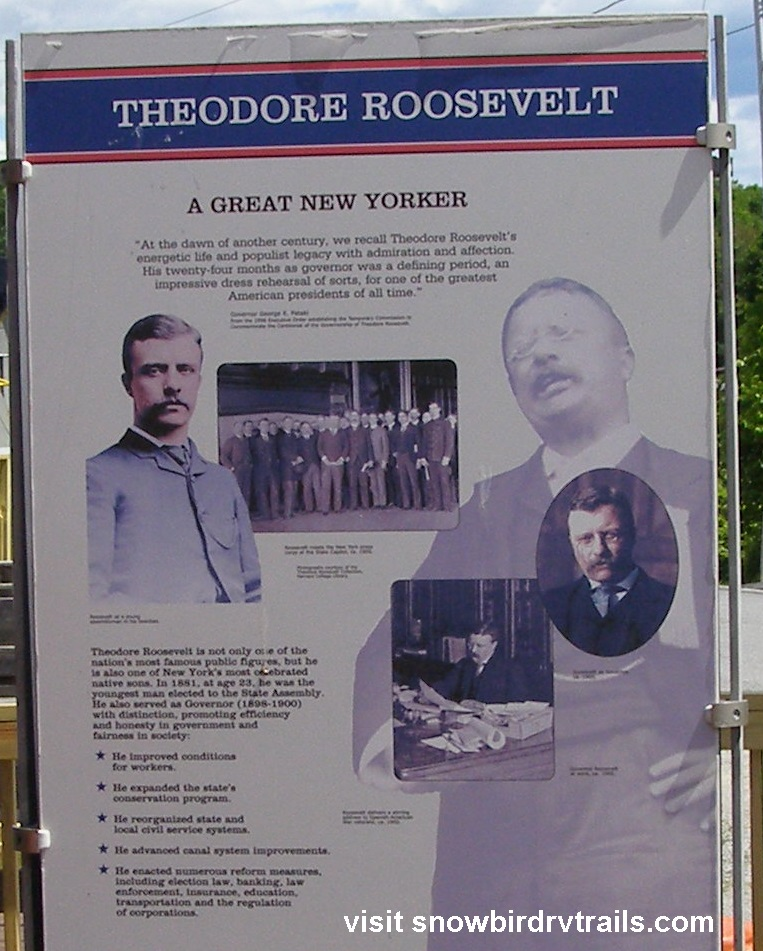 Teddy Roosevelt and his ties to North Creek