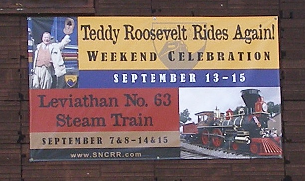 Teddy Roosevelt Rides Again in North Creek