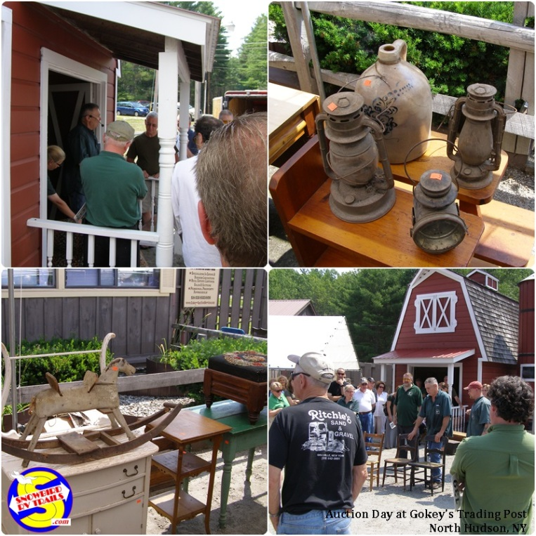 Auction Day at Gokey's Trading Post - North Hudson, NY