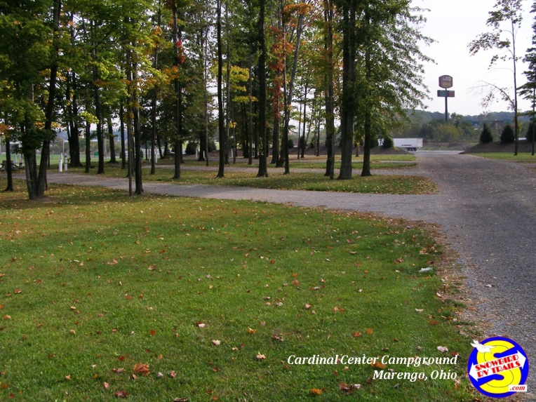 Large sites at Cardinal Center Campground - Marengo, Ohio