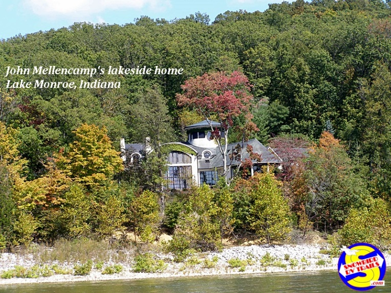 John Mellencamp's lakeside retreat on Lake Monroe