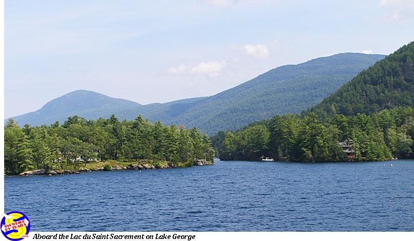 The Lac Du Saint Sacrement On Beautiful Lake George Hop