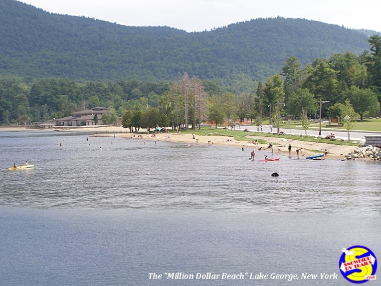 "The cruise begins and ends near the ""Million Dollar Beach"" on the South end of Lake George"