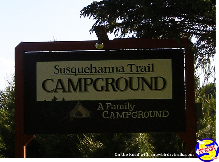 Susquehanna Trail Campground Oneonte, NY