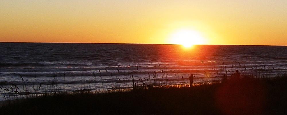 Gulf Coast Sunset in Mexico City, Florida