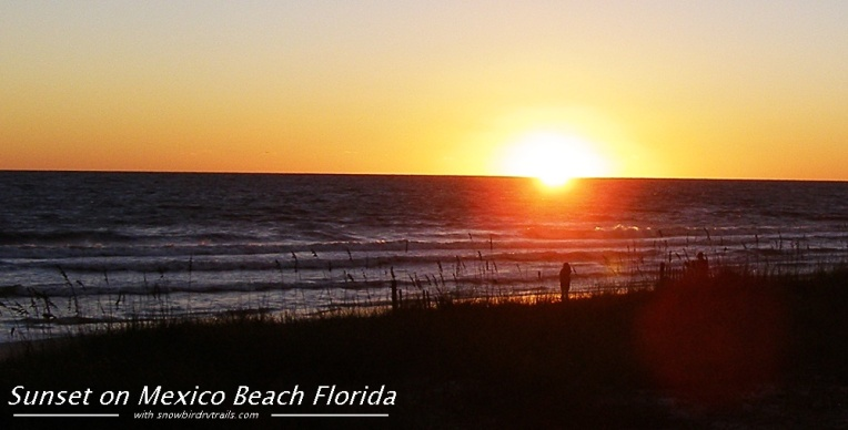 Gulf Coast Sunset in Mexico City, Florida