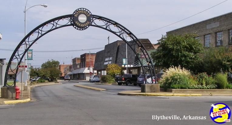 Downtown Blytheville, Arkansas
