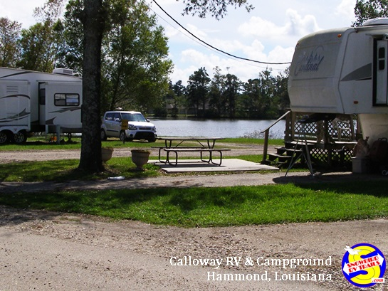 Lakeside at Calloway RV and Campground in Hammond, Louisiana