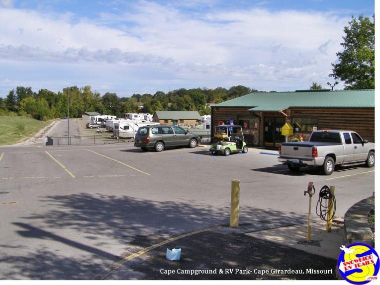Cape Camping & RV Park - Cape Girardeau, Missouri