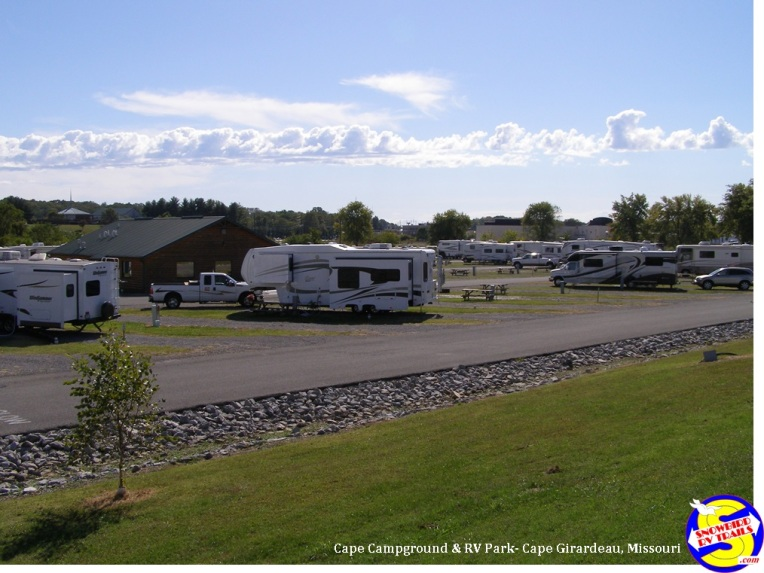 Cape Camping & RV Park - long & level pull-thrus