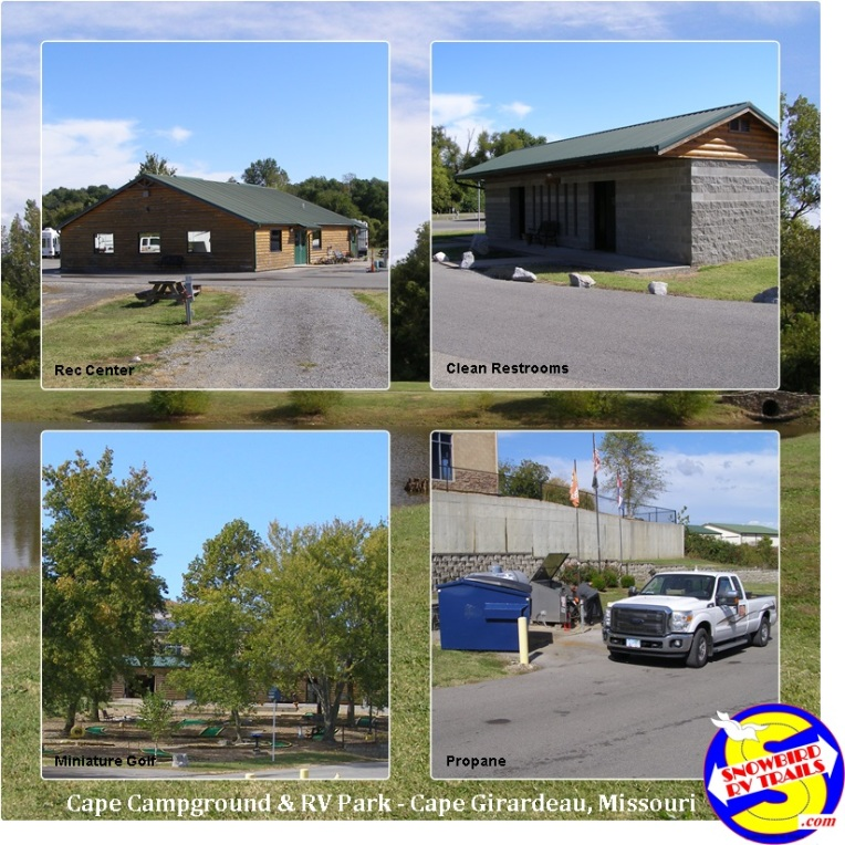 Great facilities at Cape Camping & RV Park