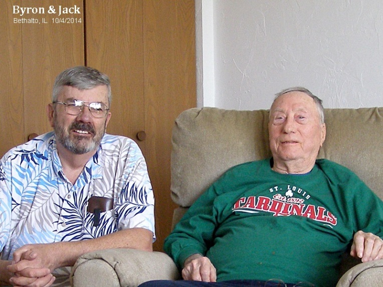 Jack and Byron - old friends meet again