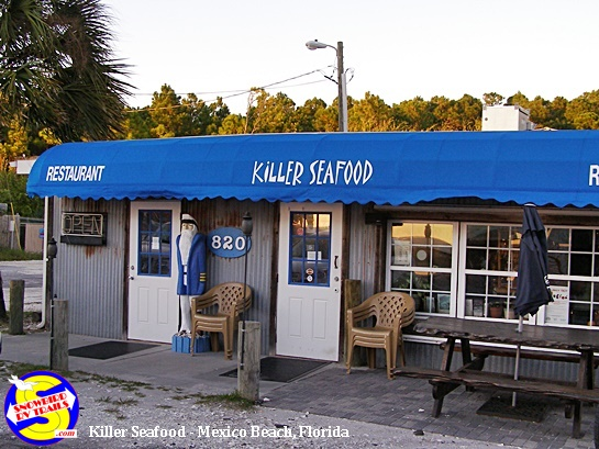 Killer Seafood in Mexico Beach, Florida
