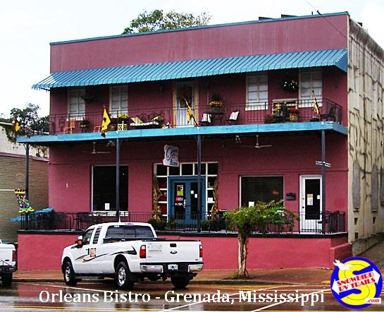 Orleans Bistro in Grenada, Mississippi